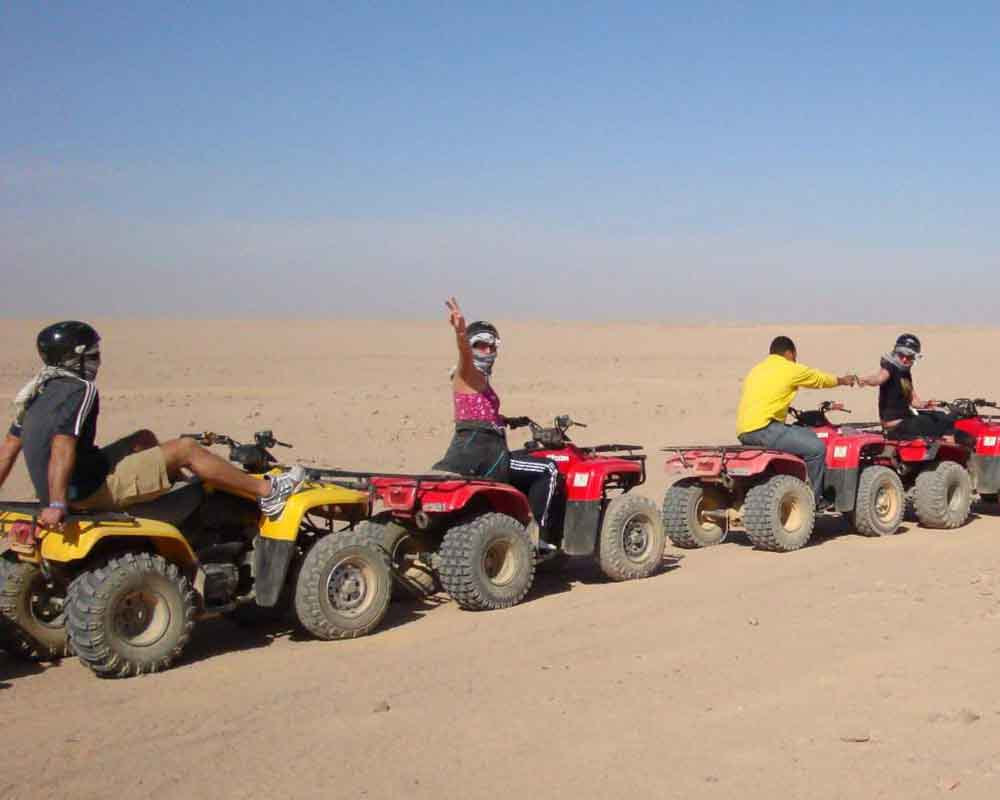 quad bike in hurghada egypt travel vacations. Black Bedroom Furniture Sets. Home Design Ideas